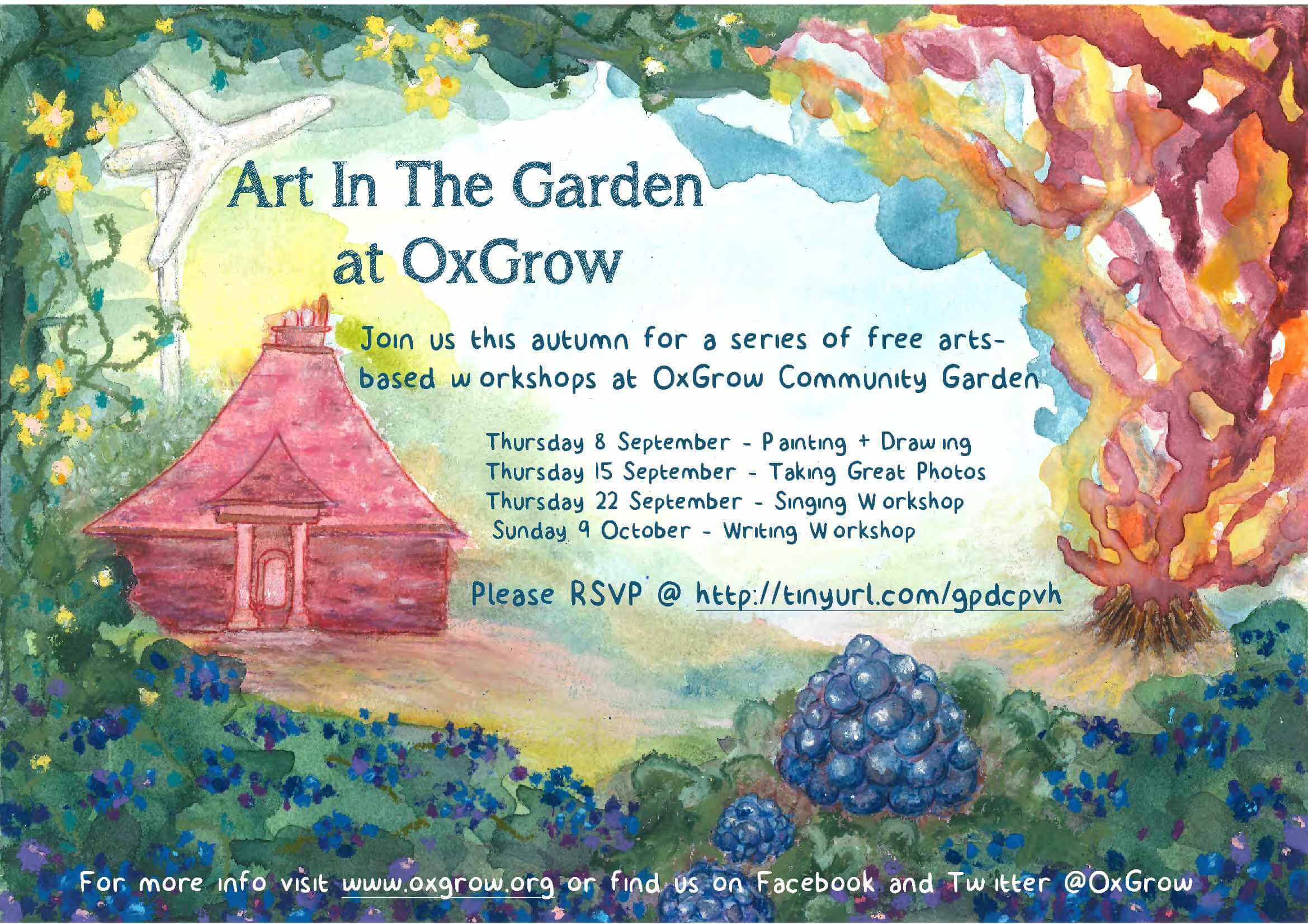 Art In The Garden flyer